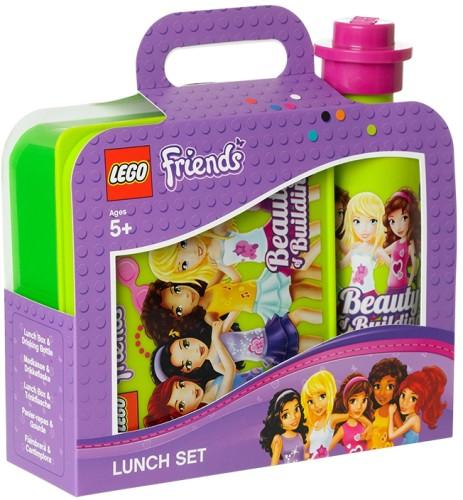 Lego Lunchset Lego Friends Groen 16 x 14 x 6,5 cm