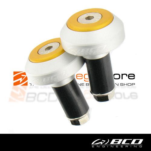 Stuurbalansgewicht set zilver/orange bcd