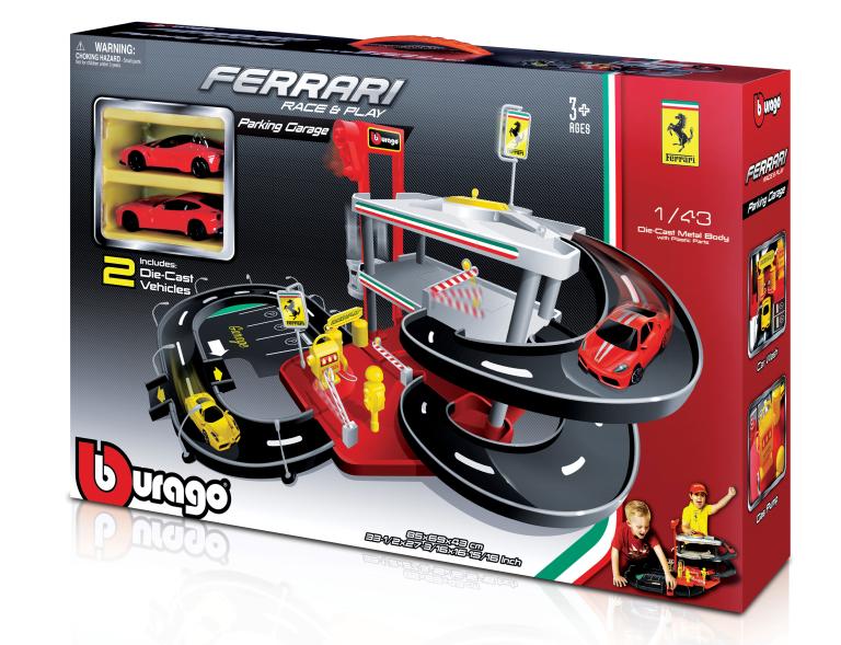 BBURAGO FERRARI PARKING GARAGE LAFERRARI/ F12 (18-31204A)