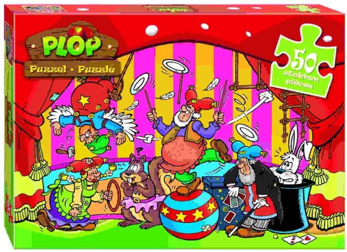 Puzzel Plop Circus 50 Stukjes