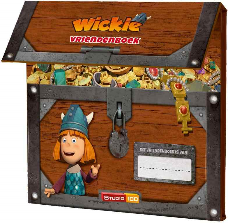 Vriendenboek  Wickie de Viking Boek