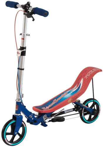 Space Scooter (ESS2ReBu) rood/blauw