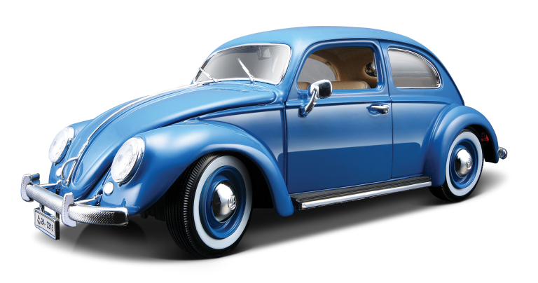 VW KEVER 1955 (LIMID EDTION) (BLAUW) (1:43)