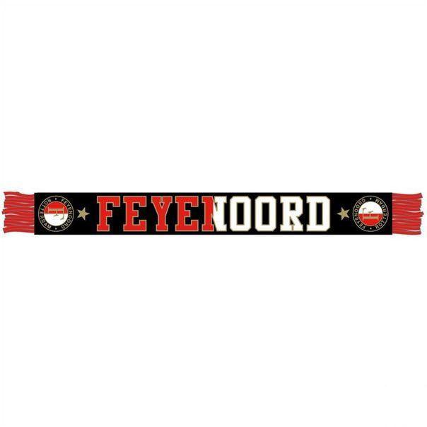 Feyenoord Sjaal Feyenoord Zwart/Rood/Wit