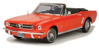 FORD MUSTANG CONVERTIBLE 1964 1/2 (1:18)