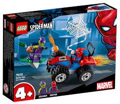 Auto achtervolging Spider-Man Lego (76133) 5702016369731 LEGO7076133