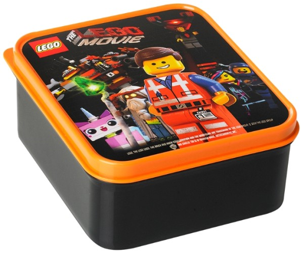 Lunchbox Lego Movie 400 ml Zwart